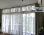 Mẫu rèm cửa phòng khách chung cư đẹp, chống nắng cách nhiệt mùa hè