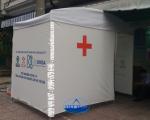 Lều y tế - Lắp lều chống dịch cho bệnh viện Bệnh Nhiệt Đới