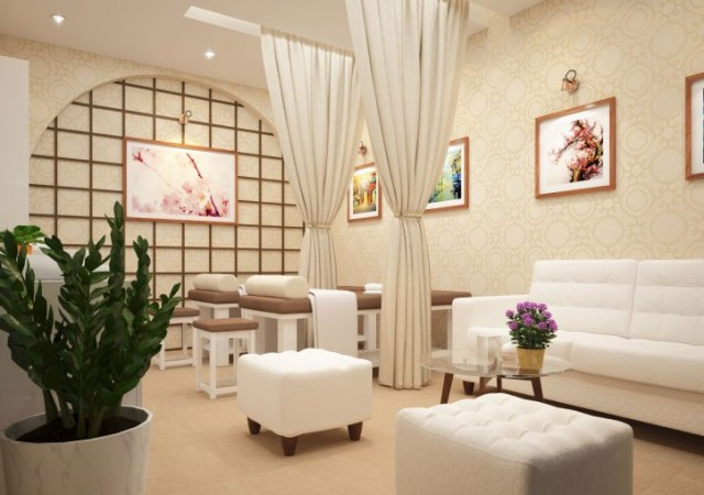 Một số mẫu rèm cửa đẹp phù hợp với không gian nội thất Spa