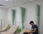 Lắp rèm tại Bệnh viện Quốc Tế Mỹ - AIH
