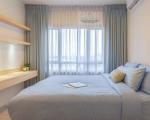 Mẫu rèm cửa sổ phòng ngủ chống nắng, màn cửa phòng ngủ đẹp tại Sài Gòn