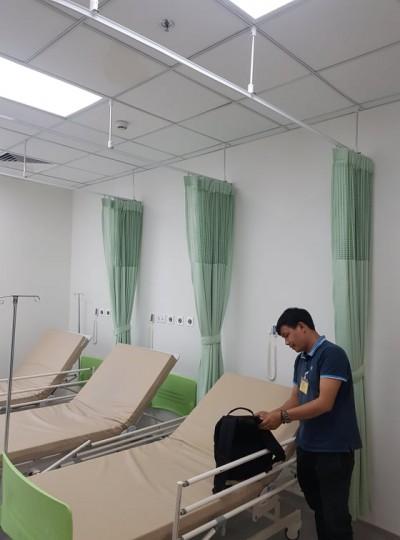 Lắp rèm tại bệnh viện AIH