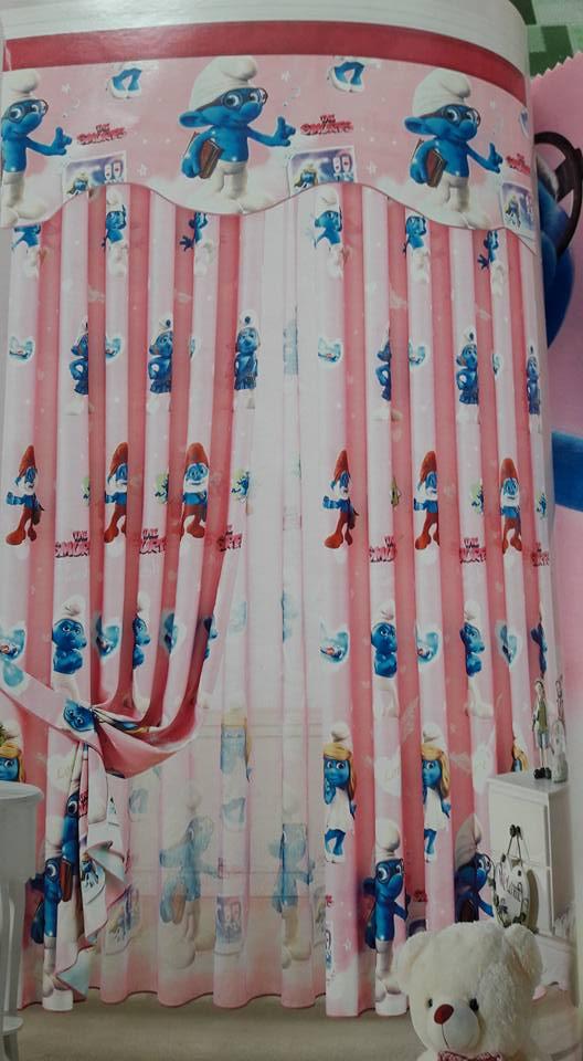 Rèm Vải Trẻ Em-51