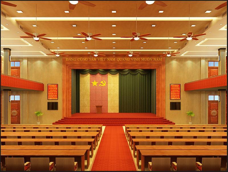 Phông Rèm Hội Trường