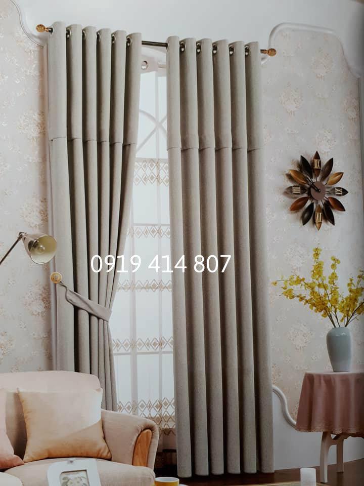 Rèm Vải Hàn Quốc Cao Cấp - HQ 04